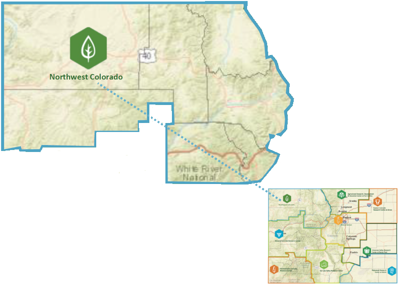 Nw Colorado Map.Northwest Colorado State University Local And Regional Food Systems