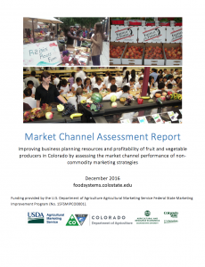 Market Channel Assessment Report Link